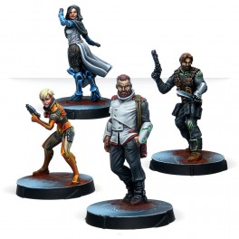 Agents of the Human Sphere. RPG Characters Set