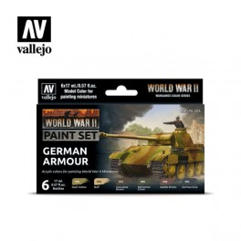 WWII German Armour Paint Set