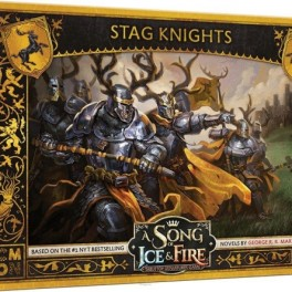 A SONG OF ICE & FIRE - Stag Knights