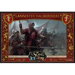 A SONG OF ICE & FIRE - Lannister Halberdiers PL